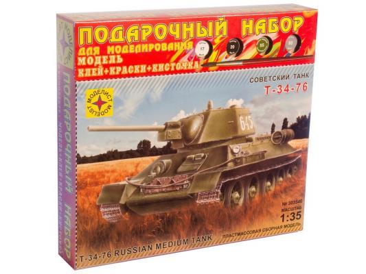 Модель Танк Т-34-76 обр. 1942 г. Моделист ПН303546, Военная техника  - купить со скидкой