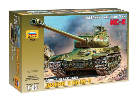 Танк Звезда ИС-2 советский тяжёлый 1:35 3524 сборная модель звезда советский танк ис 2