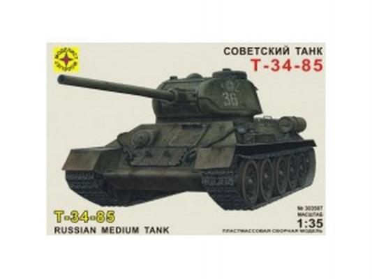 Танк Моделист советский Т-34-85 1:35 303507 моделист модель танк пантера d 1 35 303550
