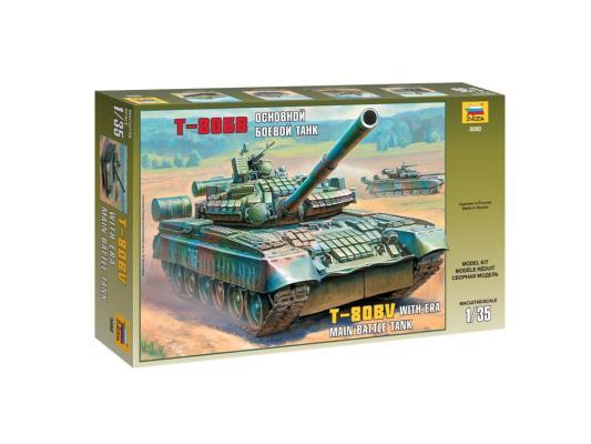 Танк Звезда Т-80БВ 1:35 3592