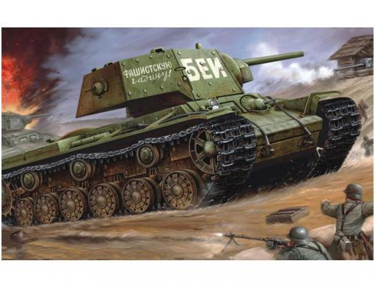 Танк Моделист КВ-1 1:35 зеленый 303536 моделист модель танк пантера d 1 35 303550