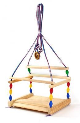 Качели Волна деревянные Деревянные игрушки Волна 3-6 лет 890016