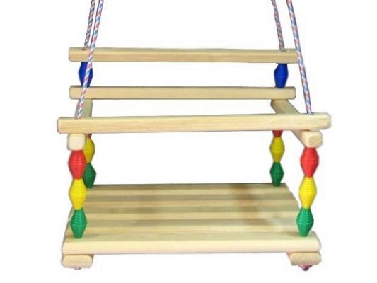Качели Гномик Деревянные игрушки - Владимир СУС4 качели деревянные игрушки волна сус1