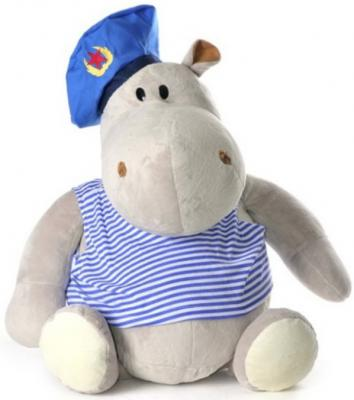 Купить Мягкая игрушка бегемот Orange Бегемот Десантник текстиль бежевый 50 см МА2640/50D, Животные