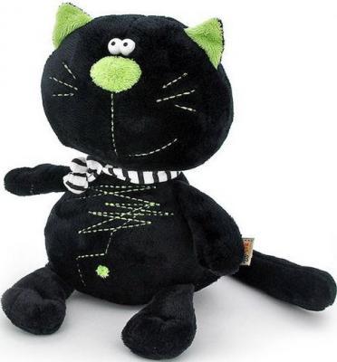 Мягкая игрушка лягушонок ОРАНЖ МС2370/40А искусственный мех синтепон черный 40 см 6938802845953