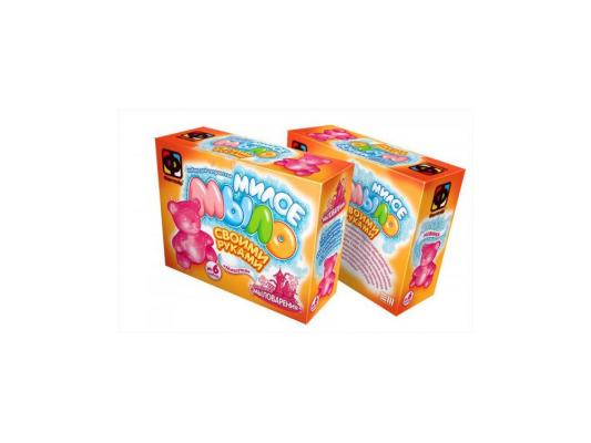 Набор для изготовления мыла Фантазер Мишутка от 3 лет 980106 форма профессиональная для изготовления мыла мк восток выдумщики 688758 1