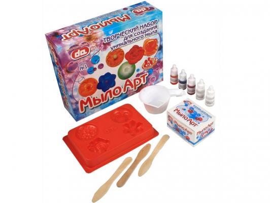 Набор для изготовления мыла Дети Арт Цветы от 7 лет да10001 форма профессиональная для изготовления мыла мк восток выдумщики 688758 1