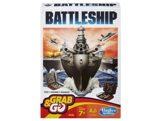 Настольная игра Hasbro дорожный Морской бой B0995