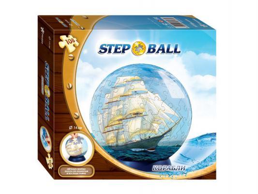 Пазл 3D Step Puzzle Корабли 108 элементов 98137
