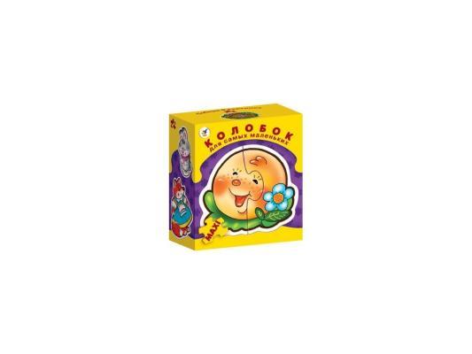 Купить Мозайка ДРОФА для самых маленьких Колобок 3 элемента 2194, Пазлы для малышей