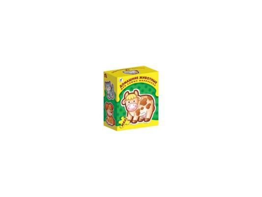 Купить Пазл ДРОФА для самых маленьких Домашние животные 3 элемента 1086, Пазлы для малышей