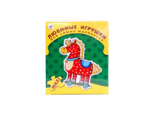 Купить Пазл ДРОФА для самых маленьких Любимые игрушки 3 элемента 1090, Пазлы для малышей