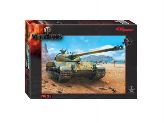 Пазл Step Puzzle World of Tanks 160 элементов 94031 пазл step puzzle world of tanks 160 элементов 94031