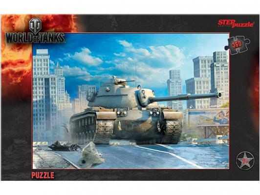 Пазл Step Puzzle World of Tanks 360 элементов 96031 пазл step puzzle world of tanks 160 элементов 94031
