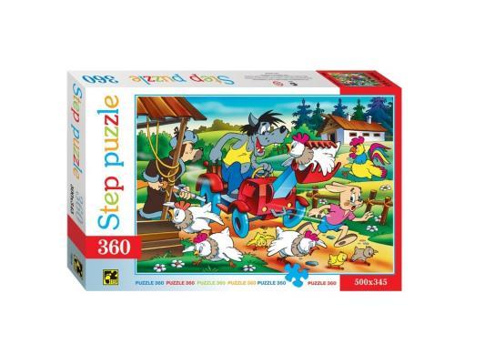 Пазл Step Puzzle Ну,Погоди! Птицеферма 360 элементов 73010 пазл step puzzle развивающие паззлы союзмультфильм путешествие в мир добра в асс 76064