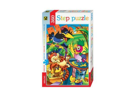 Пазл Step Puzzle Попугай Кеша 360 элементов 73048 пазл 360 элементов step puzzle кот леопольд