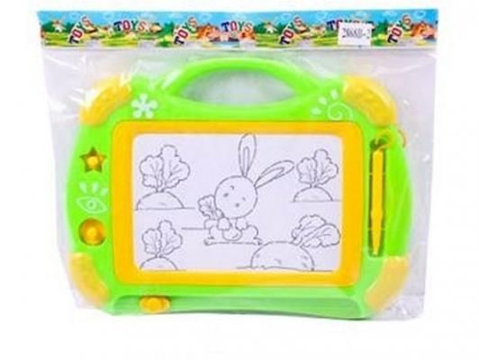 Доска для рисования Shantou Gepai 2868B-2 двусторонняя доска для рисования shantou gepai literacy tablet