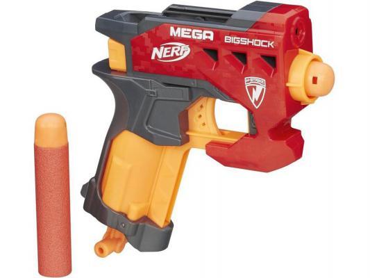 Бластер Hasbro Nerf Мега Большой выстрел красный для мальчика A9314