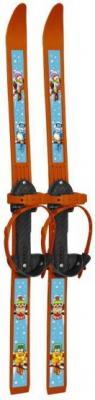 Лыжи детские Вираж-спорт с палками пластиковые 100см ЛыжВ