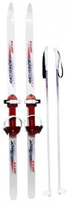 Лыжи подростковые Ski Race с палками 120/95 Дартс-Ковров Лыж 36527 ski go мазь держания ski go lf