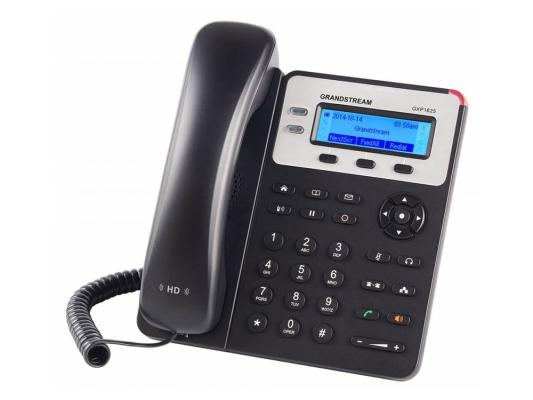 Телефон IP Grandstream GXP1625 2 линии 2 SIP-аккаунта 2x10/100Mbps LCD PoE ip телефон gigaset c530a ip