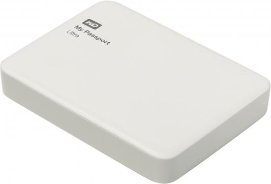"Внешний жесткий диск 2.5"" USB3.0 2Tb Western Digital My Passport Ultra WDBNFV0020BWT-EEUE белый"