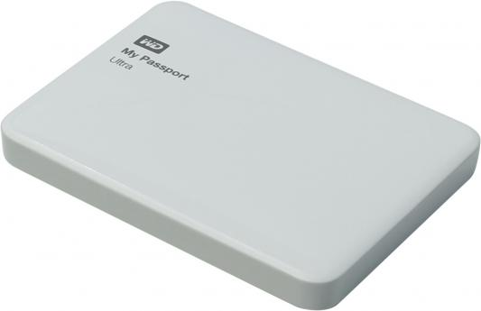 Внешний жесткий диск 2.5 USB3.0 500Gb Western Digital My Passport Ultra WDBBRL5000AWT-EEUE белый