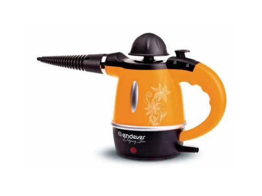 Пароочиститель ENDEVER Odyssey Q-436 1000Вт оранжевый чёрный endever odyssey q 436 отпариватель