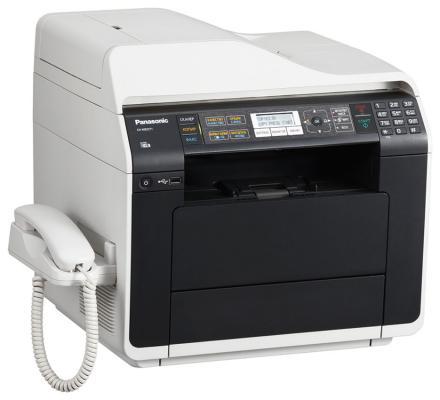 МФУ Panasonic KX-MB2571RU ч/б A4 30ppm 1200x1200dpi автоподатчик факс Ethernet USB Wi-Fi бело-черный