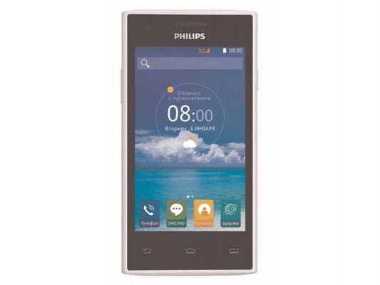 Смартфон Philips S309 белый 2Sim