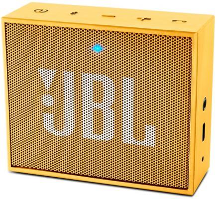 Портативная акустика JBL GO желтый JBLGOYEL