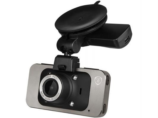 "Видеорегистратор Prestigio RoadRunner 545 2.7"" 320x240 170° HDMI microSD microSDHC серебристый"