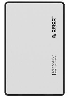 "Внешний контейнер для HDD 2.5"" SATA Orico 2588US3-SV USB3.0 серебристый"