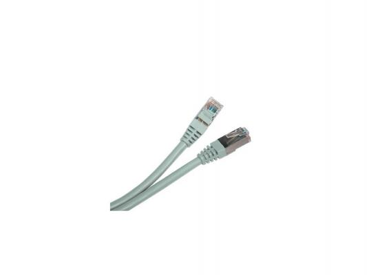 Патч-корд UTP 5E категории 0.5м Hyperline PC-LPM-UTP-RJ45-RJ45-C5e-0.5M-LSZH-GY серый