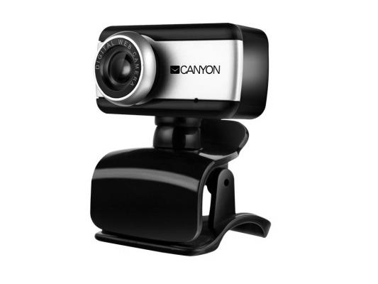 Веб-Камера Canyon CNE-HWC1 черный-серебристый веб камера canyon cne cwc2 черный серебристый