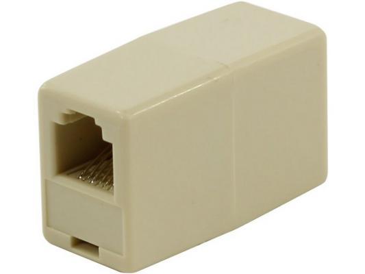 Адаптер проходной RJ-12 6P6C - 6P6C 5bites LY-US021