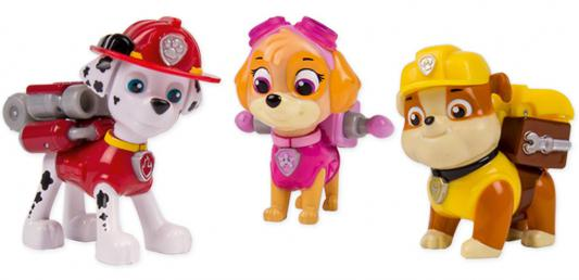 Игровой набор Paw Patrol 3 щенка с рюкзаком-трансформером от 3 лет 20067177 portable radio frequency cavitation rf ultrasonic body slimming machine body massage skin tightening lifting weight loss device