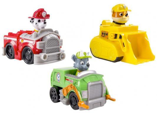 Игровой набор Paw Patrol 3 маленькие машинки от 3 лет 20067173 zhorya набор городская автомойка 3 машинки 47 6 3 32 5см