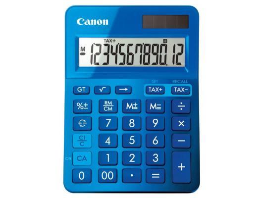 Калькулятор Canon LS-123K-MBL 12 разрядов синий