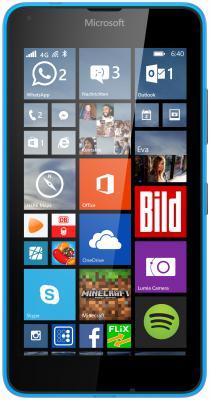 "Смартфон Microsoft Lumia 640 LTE голубой 5"" 8 Гб NFC LTE Wi-Fi GPS"