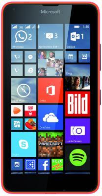"Смартфон Microsoft Lumia 640 LTE оранжевый 5"" 8 Гб Wi-Fi GPS LTE NFC"
