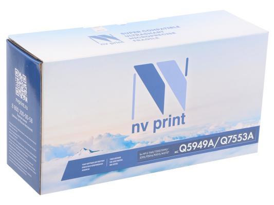 Картридж NV-Print Q5949A/Q7553A для HP LJ 1160/1320/3390/P2014/P2015/M2727mfp черный 3000стр картридж nv print nvp q5949x q7553x для hp lj 1160 1320 1320n 3390 3392 p2014 p2015 m2727canon lbp 3300 7000стр