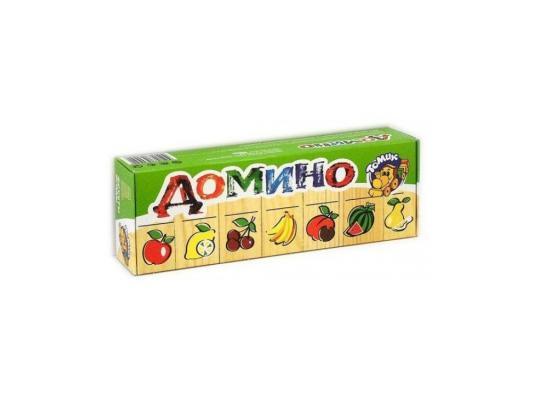 Настольная игра Томик домино Фрукты-ягоды 5555-5 настольная игра домино стеллар мультфильмы 10