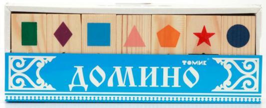 Купить Настольная игра Томик домино Геометрические фигуры 5655-1, Лото, домино, шашки и шахматы