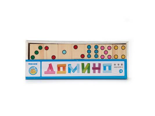 Настольная игра Томик домино Домино Точки настольная игра домино стеллар мультфильмы 10