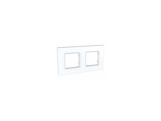 Рамка 2 пост белый Schneider Electric MGU2.704.18