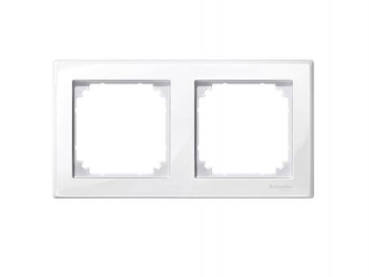 Рамка 2 пост белый Schneider Electric MTN515225