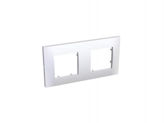 Рамка 2 пост белый Schneider Electric ALB45652