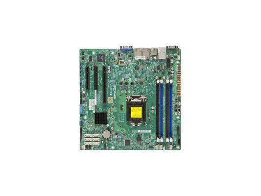 Материнская плата для ПК Supermicro MBD-X10SLH-F-O Socket 1150 C226 4xDDR3 1xPCI-E 4x 2xPCI-E 8x 6xSATAIII mATX OEM