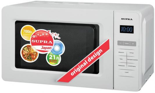 СВЧ Supra MWS-2105SW 21 л белый supra is 2602c